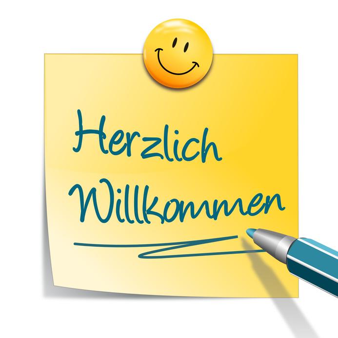 Fotolia_34429386_S Herzlich Willkommen